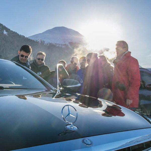 Mercedes-Benz Winter Experience - St. Moritz