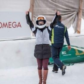 Olympic Bobrun in a Monobob Experience - St. Moritz-4-Daniela